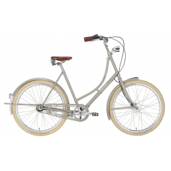 "EXCELSIOR Bici Olandese 26"" GRAND ND TB 3V, Stone Grey"