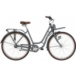 """7 Velocità EXCELSIOR Bici da città donna """"Swan-Retro ND FT Alu"""" 28"""", basaltgrey"""