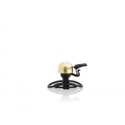 XLC Minicampanello Messing Ottone con Fascetta Regolabile