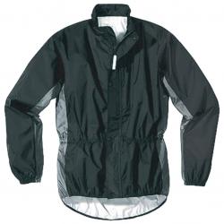 Hock Giacca da Pioggia Rain Guard Nero/Dolomite