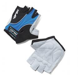 Guanti da ciclismo XLC Atlantis blu/grigio/nero