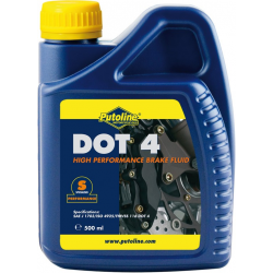 Putoline Olio Freni Sintetico DOT 4, 500 ml