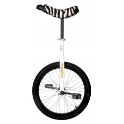 """Monoc.QU-AX 20""""Luxus bianco sella zebra 1105 c.cerchione in alluminio"""