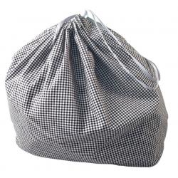 Inserto tessile per Hebie Bootbag nero/bianca quadrettato