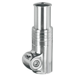 """A-Head Distanziale 117 mm alluminio silver per 1.1/8"""""""