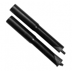 "Prolunga attacco manubrio 25.4 mm, 1.1/8"" acciaio nero"