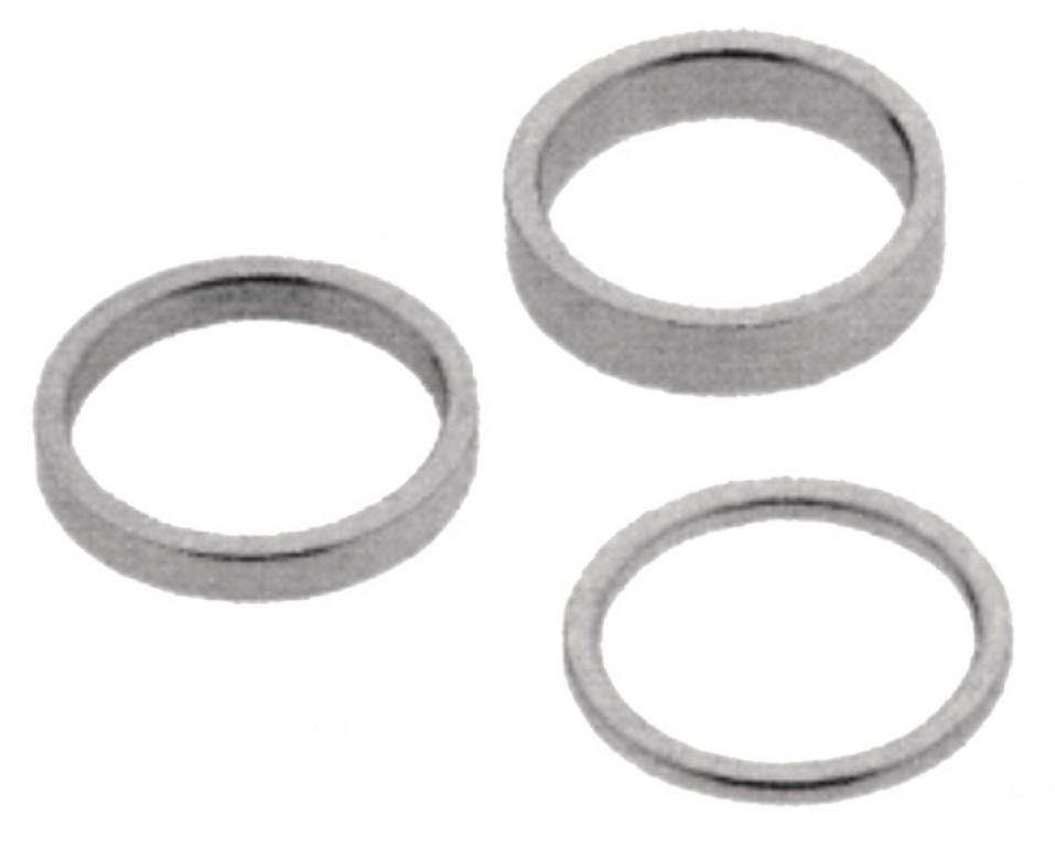 Confezione di distanziali neri 4x2,6x5,6x10,4x15,4x20mm
