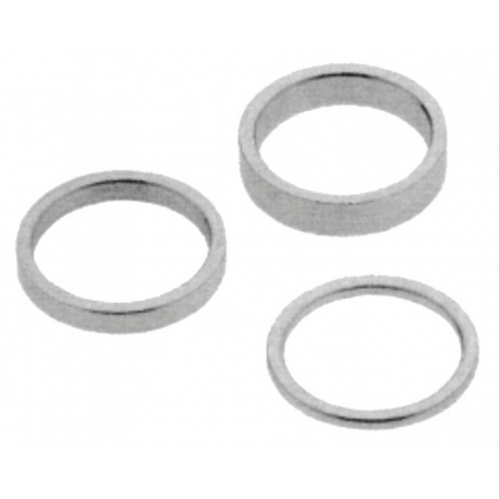 Box distanziali diversi spessori argento 4x2,6x5,6x10,4x15,4x20mm