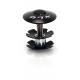 "XLC A-Head Plug AP-S01 1.1/8"", allu., nero, SB Plus"