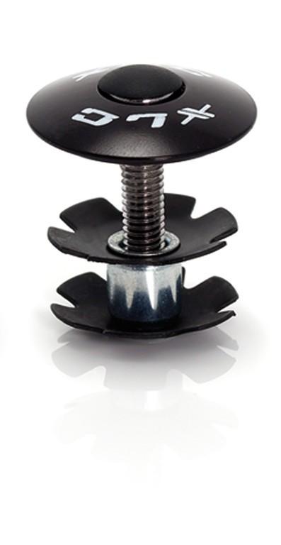 """XLC A-Head Plug AP-S01 1.1/8"""", alluminio nero"""