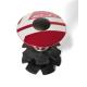 "XLC A-Head Plug AP-S01 1.1/8"", allu, rosso"
