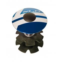 "XLC A-Head Plug AP-S01 1.1/8"", allu, azzurro"