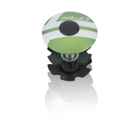 "XLC A-Head Plug AP-S01 1.1/8"", Alu, verde limone"