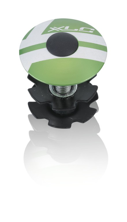 """XLC A-Head Plug AP-S01 1.1/8"""", alluminio verde lime"""