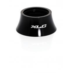 XLC A-Head Spacer 18 mm, forma conica, nero