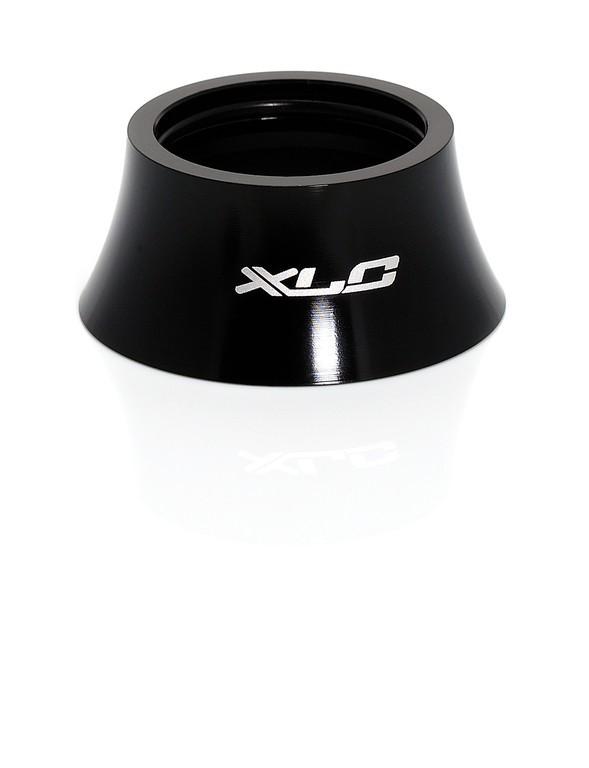 XLC A-Head Spacer 18 mm forma conica, nero