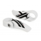 XLC Pro Bar-Ends dritti BE-A13 83 mm, bianco
