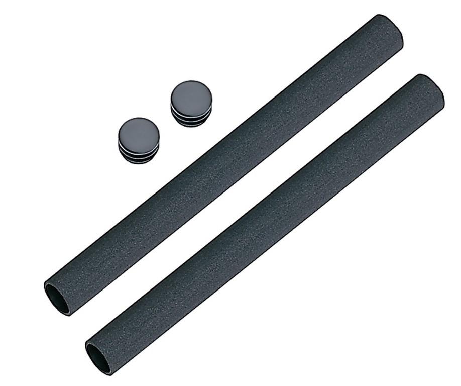 Coppia foderi in foam nero, 200mm