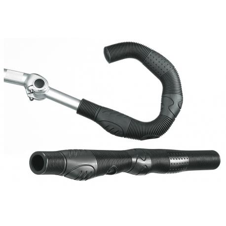 impugnature Humpert X-ACT Ergo-Vario nere, 22x410mm, a coppie