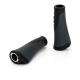 XLC Bar Grips 'Ergonomic' GR-S04 nero/grigio, 135/92mm vite di fissaggio