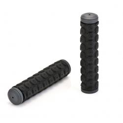 XLC manopole GR-G01 nero/grigio, 130mm