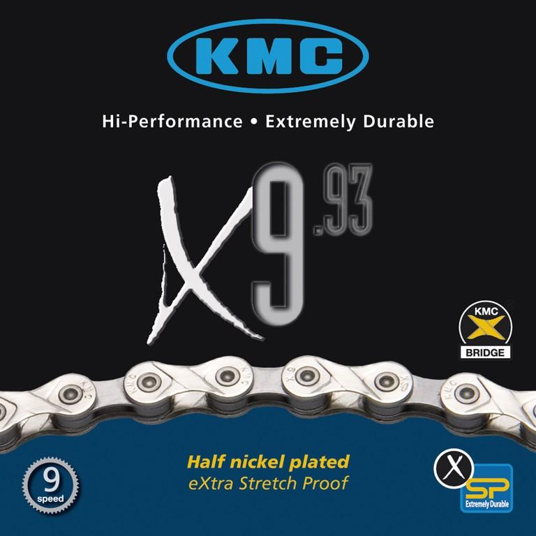 KMC Catena X9-93 Silver/Grey