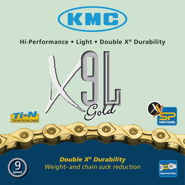 KMC Catena X9L Gold