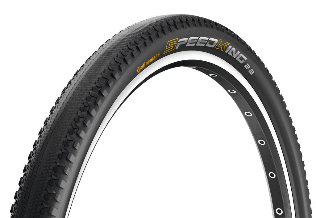 "Conti Speed KingII Race Sport piegh. 26x2.20"" 55-559 nero/nero Skin"