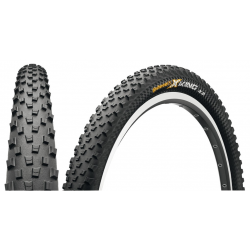 "Conti X-King ProTection piegh. 27.5x2.20"" 55-584 nero/nero Skin"