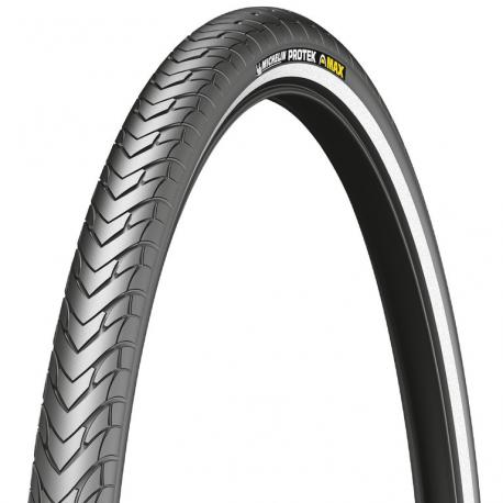 """Michelin Protek Max vers.rigida 26"""" 26x1.85 47-559 nero Reflex"""