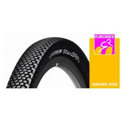 """Michelin Star Grip rigido 28"""" 700x35C 37-622 nero Reflex"""