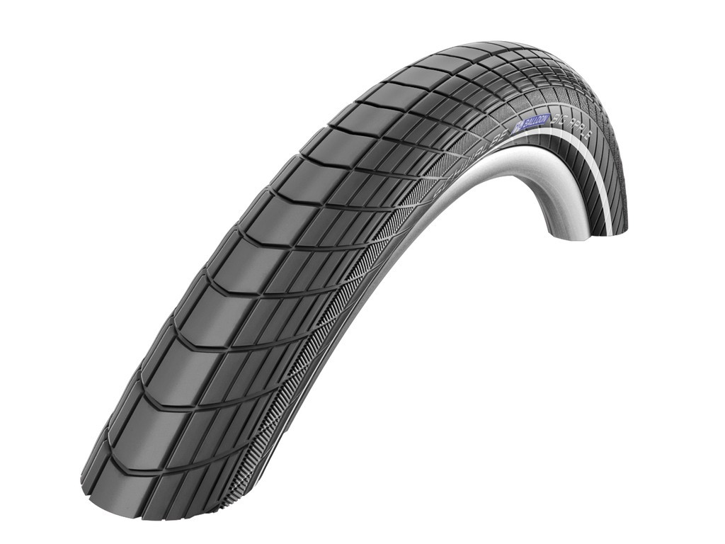 "Schwalbe Big Apple HS 430 26x2.15"" 55-559 nero Reflex RaceGuard"