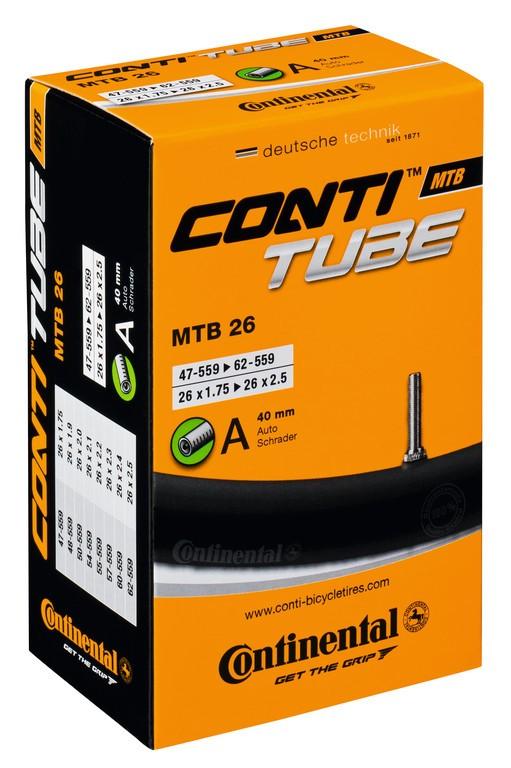 "Conti MTB 26 26x1.75/2.30"" 47/62-559, VS 52 mm"