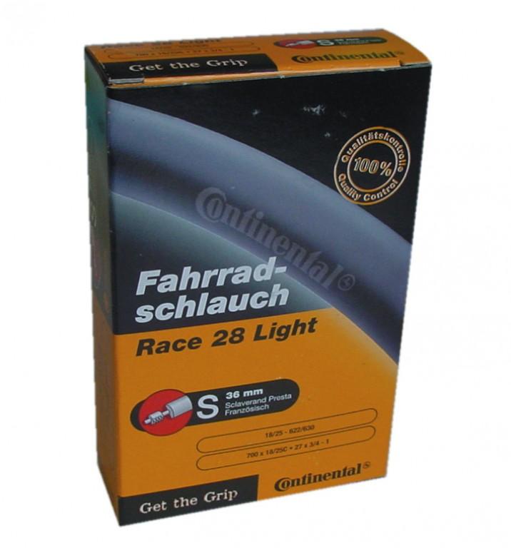"Conti Race 28 light 28"" 700x18/25C,18/25-622/630, VS 42 mm"