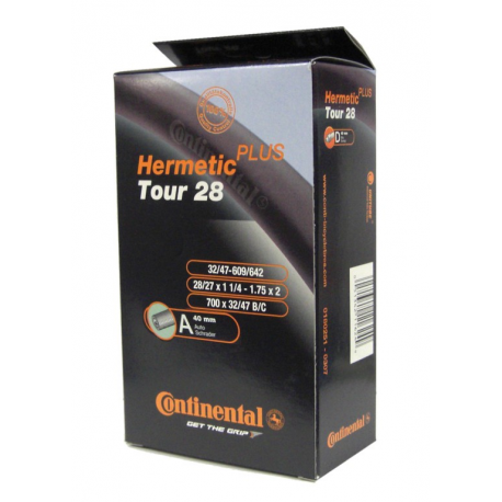 "Conti Tour 28 Herm Plus 28x1 1/4-1.75"" 32/47-609/642,AV 40mm"