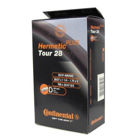 "Conti Tour 28 Herm Plus 28x1 1/4-1.75"" 32/47-609/642,DV 40mm"