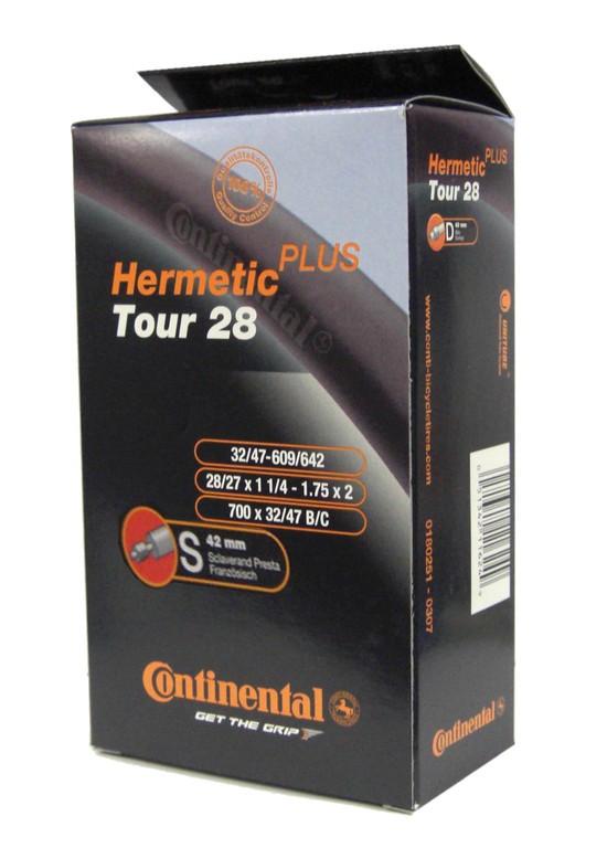 "Conti Tour 28 Herm Plus 28x1 1/4-1.75"" 32/47-609/642,SV 42mm"