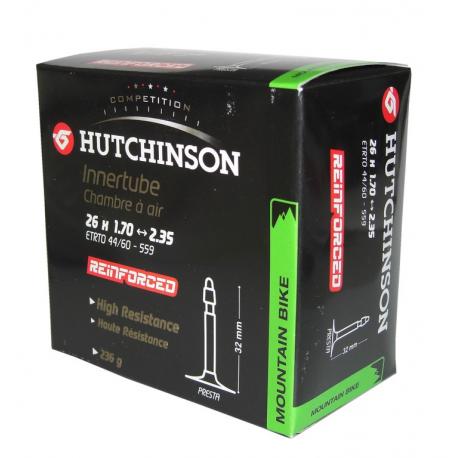 "Hutchinson Reinforced 26"" 26x1.70-2.35"" valvola francese 32 mm"