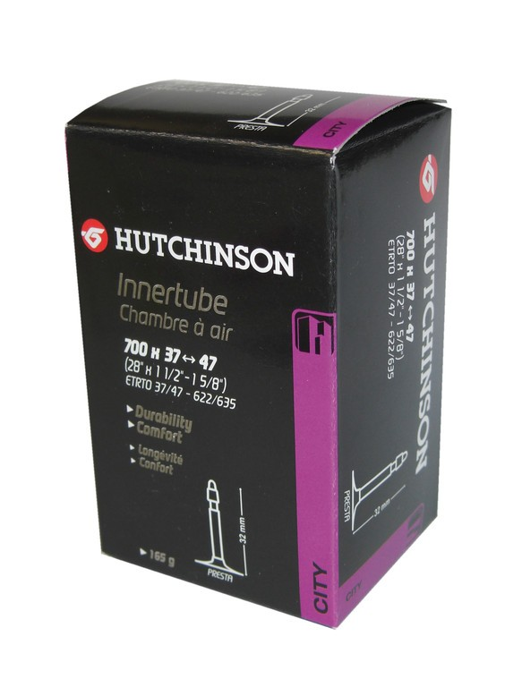 "Hutchinson Standard 12"" 12 1/2 x 1.75/2.35 valvola franc 32 mm"