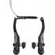 V-Brake Shimano Deore BR-T610 H-ruota, nera, trekking