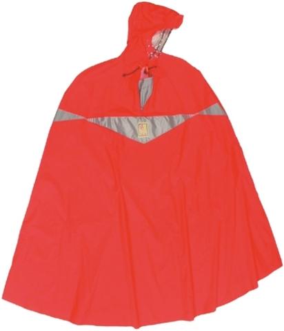 Hock Poncho Antipioggia Super Praktiko Rosso