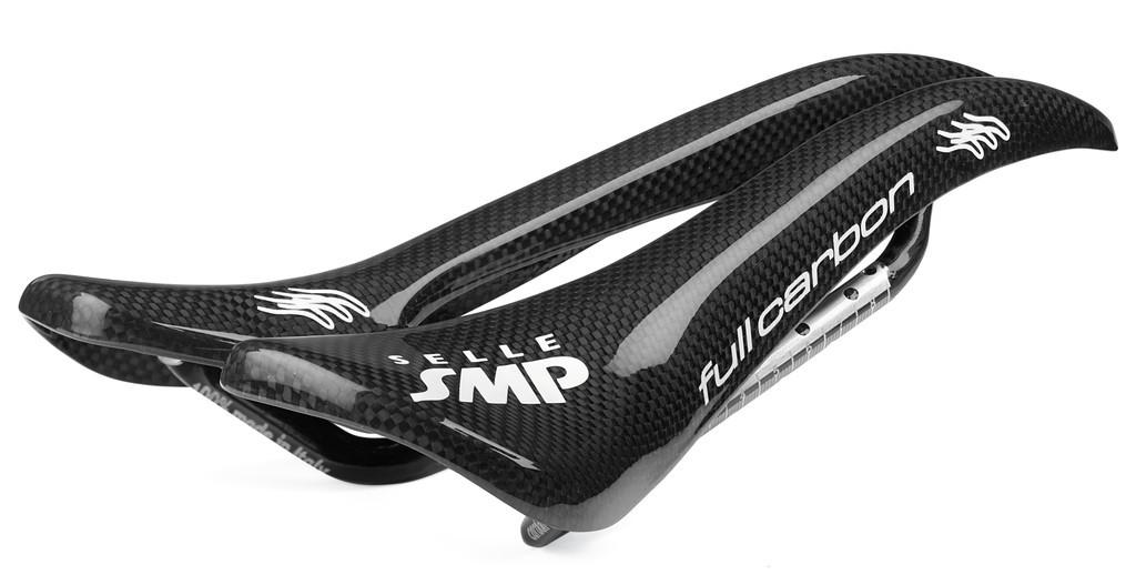 Sella corsa Selle SMP Full-Carbon nero, 263 x 129 mm, 105 gr
