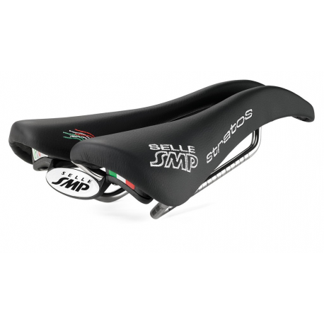 Sella Road/MTB Selle SMP Stratos nera, 266 x 131mm, 250g