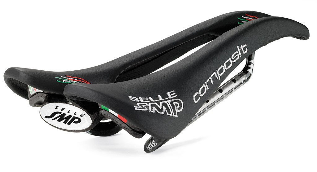 Sella Road/MTB Selle SMP Composit nera, 263 x 129mm, 200 g