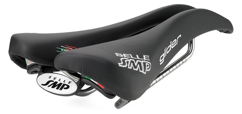 Sella Road/MTB Selle SMP Glider nera, 266 x 136mm, 260g