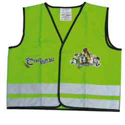 Crazy Stuff Gilet Catarifrangente Boy 104-121 cm