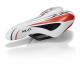 XLC sella bimbo/ragazzo SA-C01 Unisex 245x150mm, bianco/rosso 312g