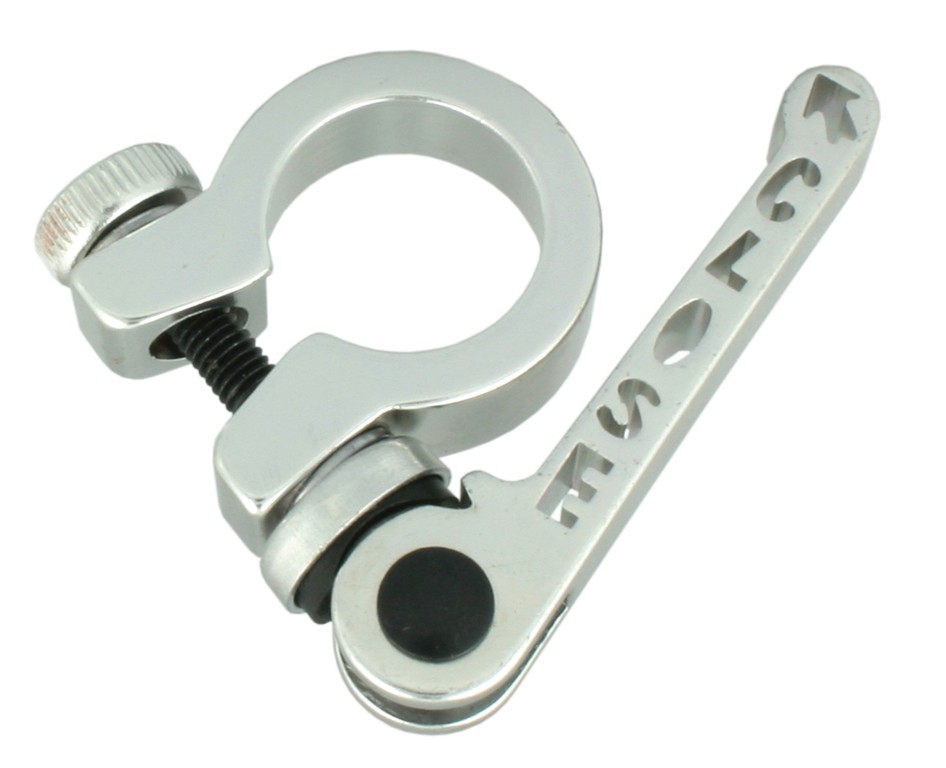 Morsetto reggisella monociclo in alluminio, diametro 22.2 mm