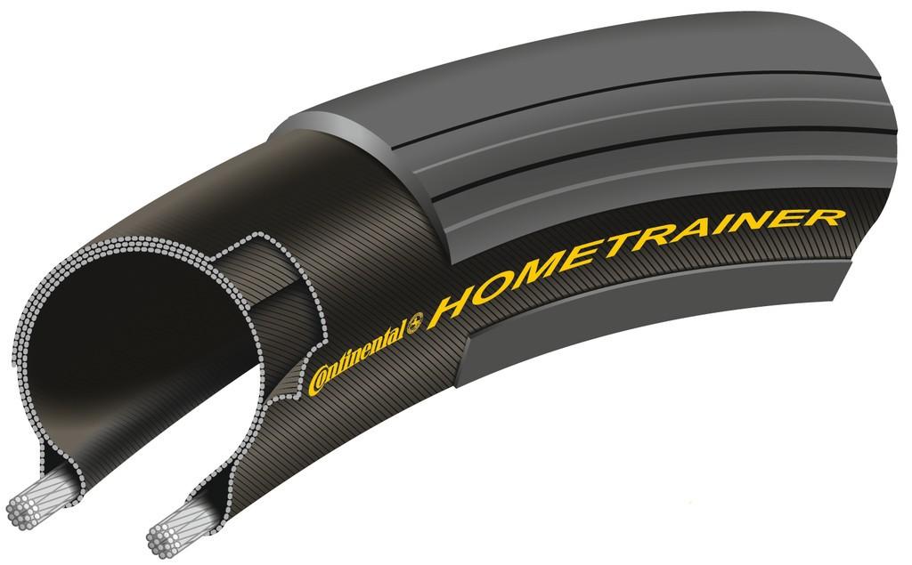 """Copertone Conti Hometrainer II piegh. 26x1.75"""" 47-559 nero"""