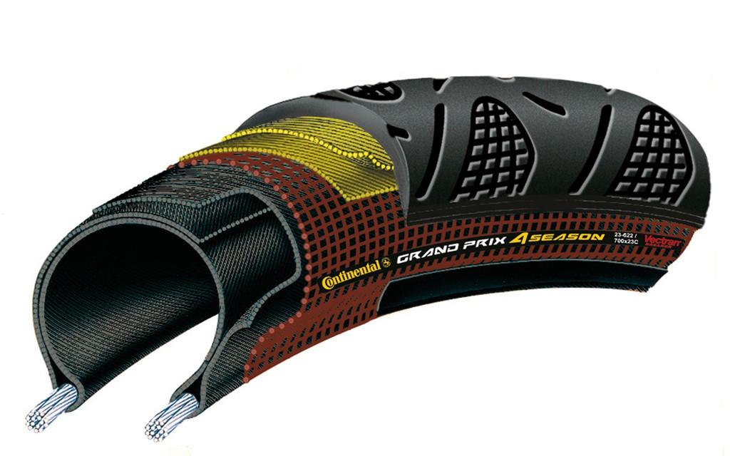 Cop. Conti Grand Prix 4-Season piegh. 28'' 700x32C 32-622 nero Dura Skin